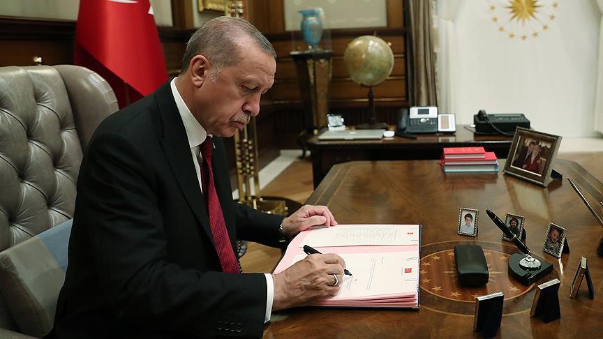 Cumhurbaşkanı Erdoğan Danıştay'a 4 üye seçti!