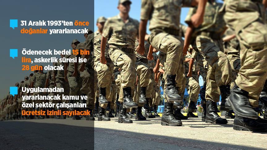Bedelli askerlik düzenlemesinin detayları belli oldu!
