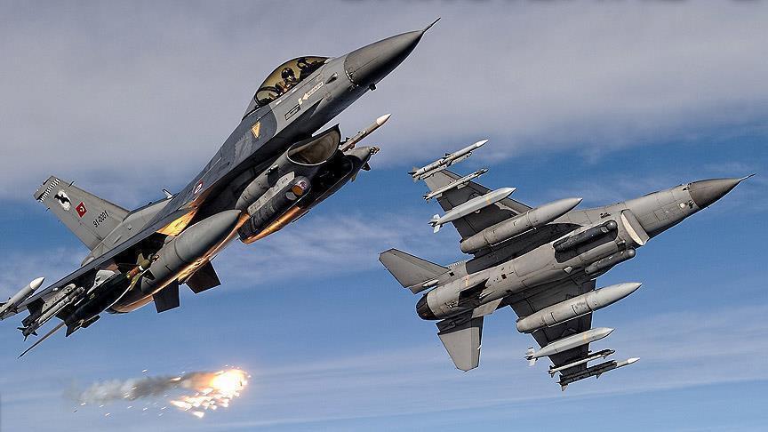 TSK'dan hava harekatı: 9 terörist etkisiz hale getirildi