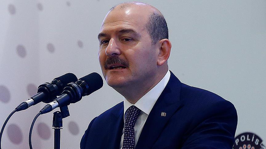 İçişleri Bakanı Süleyman Soylu açıkladı