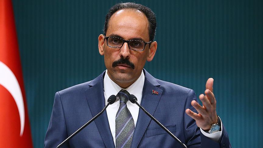 Cumhurbaşkanlığı Sözcüsü Kalın: Türkiye Kıbrıslı soydaşlarımızın yanında olacak