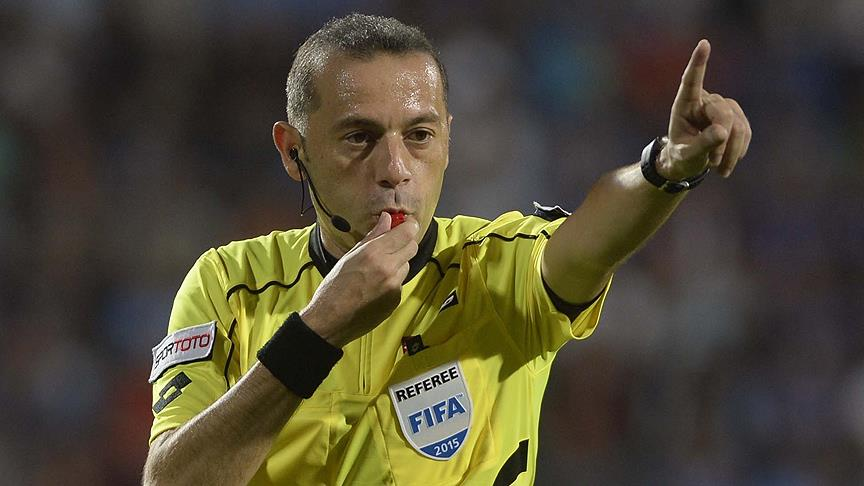 TFF Süper Kupa maçını Cüneyt Çakır yönetecek!
