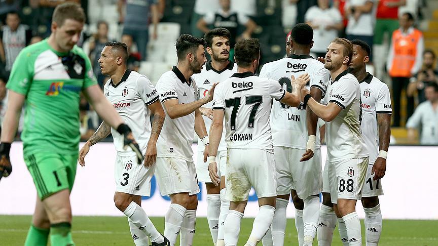 Beşiktaş gol yağmuruyla turladı!