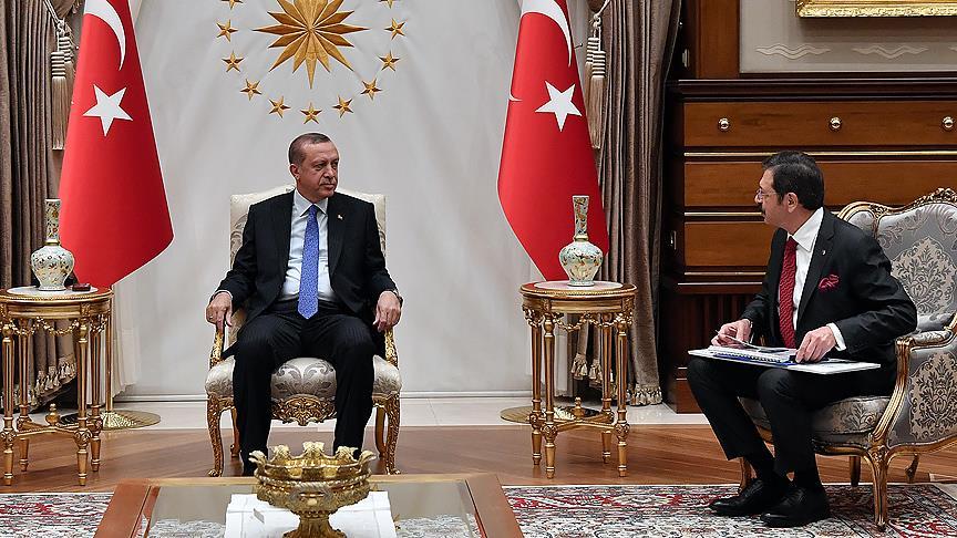 Cumhurbaşkanı Erdoğan TOBB heyetini kabul edecek