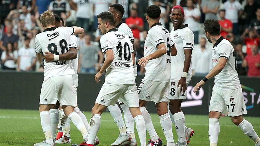 Beşiktaş tur için bir adım önde!