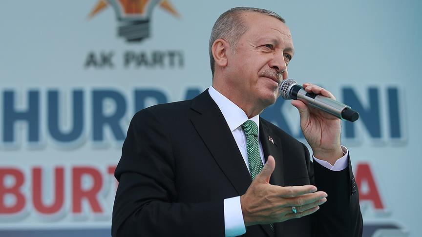 Erdoğan: Biz hak, hukuk neyse onun gereğini yaparız