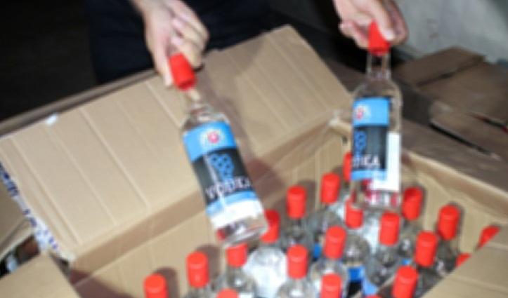 İstanbul'da sahte içki operasyonu