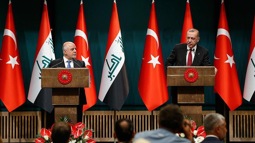 Erdoğan: Irak'ın güvenliği, Türkiye'nin güvenliğidir
