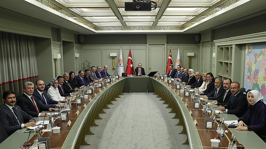 AK Parti'de yeni MYK üyeleri belirlendi!
