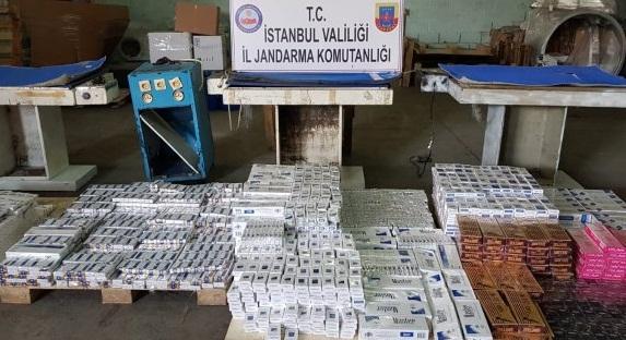 """""""İstanbul'da Kaçak Sigara Operasyonu"""""""