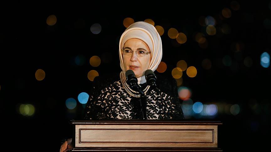 """Emine Erdoğan'dan """"Kerbela"""" mesajı"""