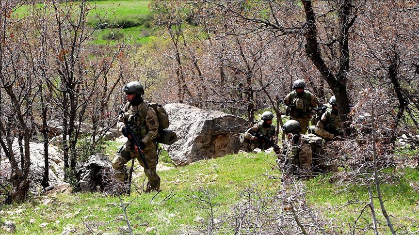 Diyarbakır'daki terör operasyonunda mühimmat ele geçirildi