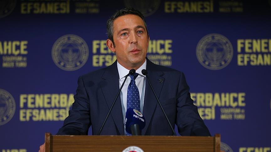 Fenerbahçeli taraftarların, başkan Ali Koç'a güveni tam