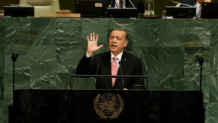 Cumhurbaşkanı Erdoğan BM Genel Kurulu'na hitap edecek