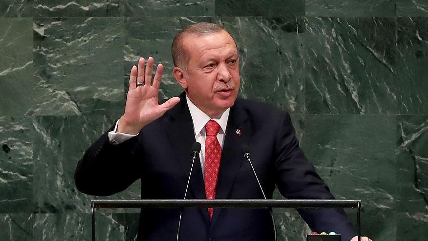 Erdoğan'ın '#WorldIsBiggerThan5' hashtagi Twitter'da 'TT' oldu