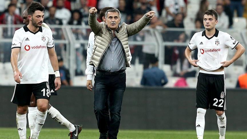 Beşiktaş Kulübü Teknik Direktörü Güneş: Gol yememiş olmamız sevindirici