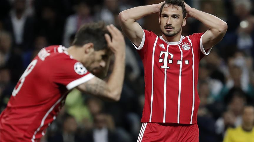 Bayern Münih farklı kaybetti!