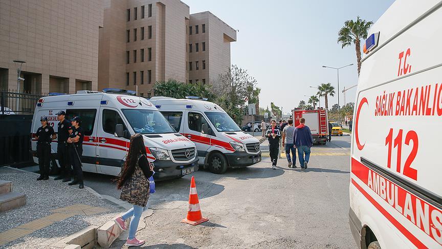 İzmir Adliyesindeki gaz sızıntısından etkilenen bir kişi hayatını kaybetti!