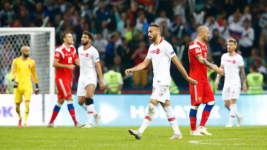 A Milli Futbol Takımı umudunu kaybetmedi!