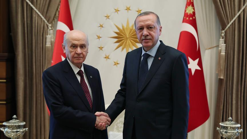 Cumhurbaşkanı Erdoğan, Bahçeli ile görüşecek!