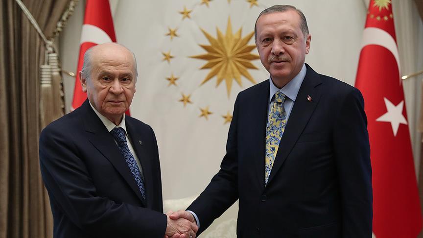 'Erdoğan-Bahçeli görüşmesi'