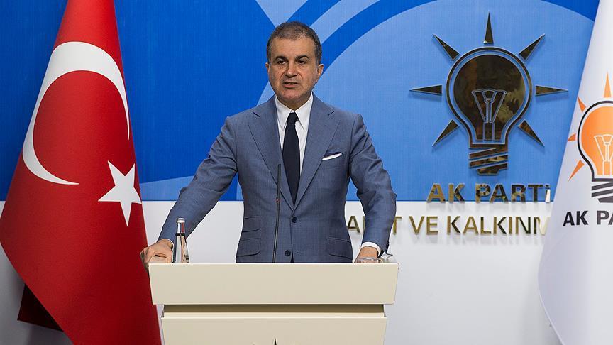 Çelik: Cumhurbaşkanımıza saygı AK Parti'nin kırmızı çizgisidir