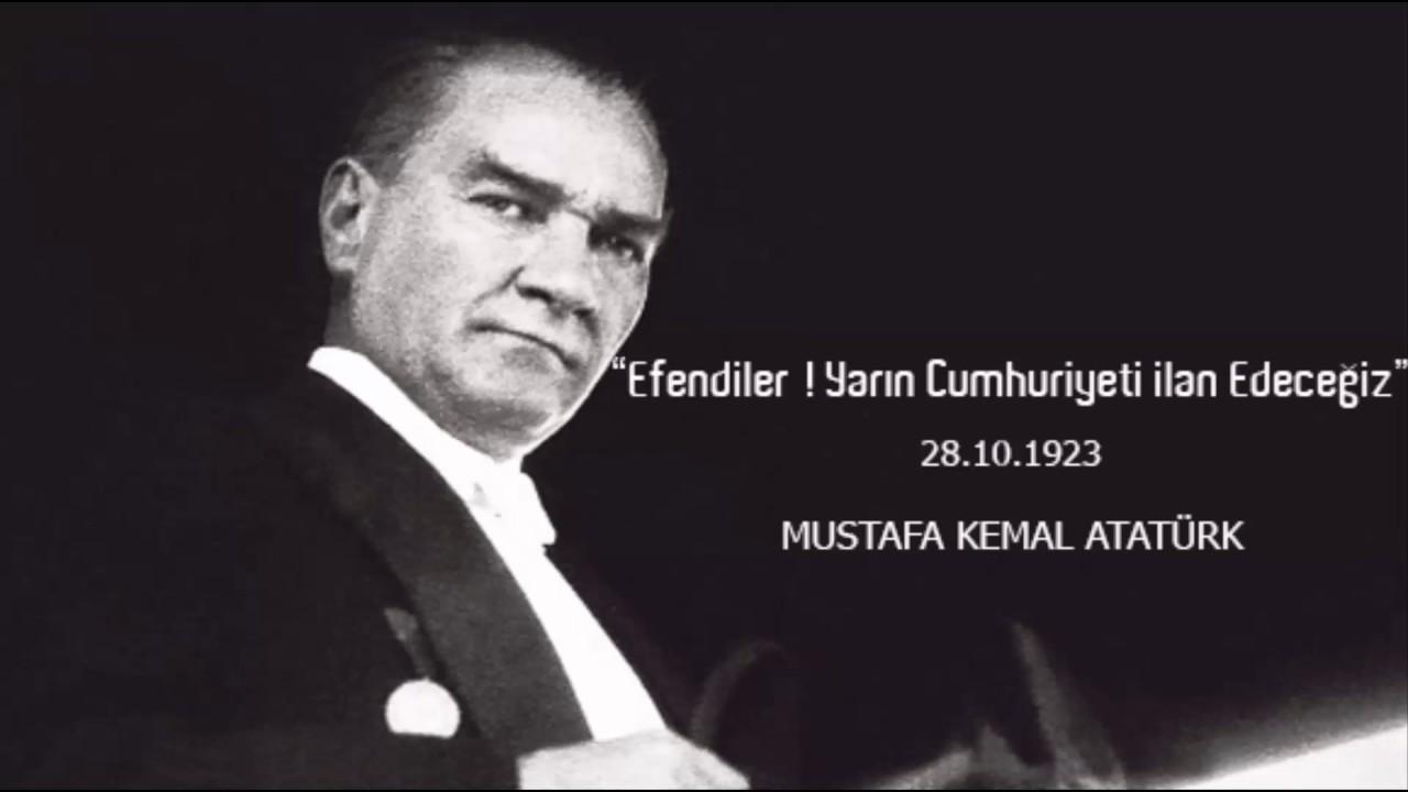 """""""Yarın Cumhuriyet ilan edeceğiz"""""""