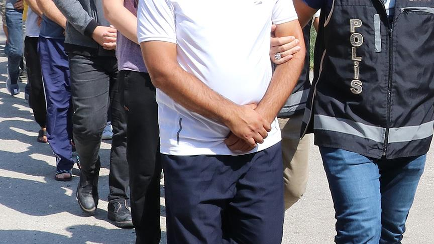 Manisa merkezli FETÖ operasyonunda 14 şüpheli gözaltında