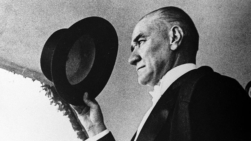"""Büyük Önder Atatürk'ün ebediyete intikalinin """"80'inci yılı"""""""