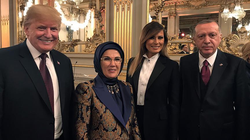 Cumhurbaşkanı Erdoğan, Trump ile görüştü!