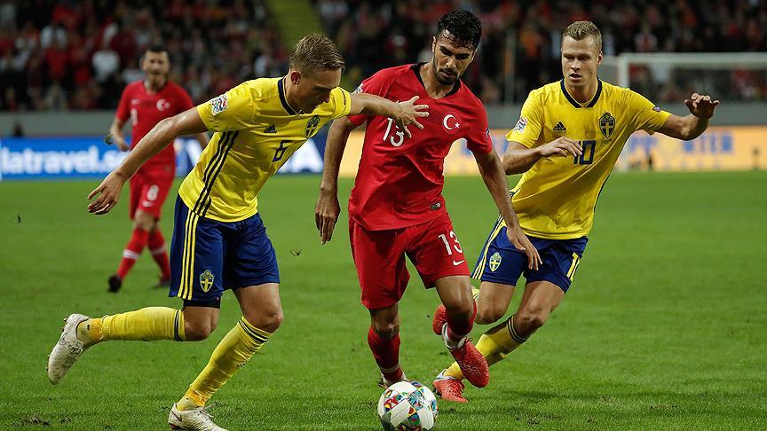 A Milli Futbol Takımı İsveç karşısında!