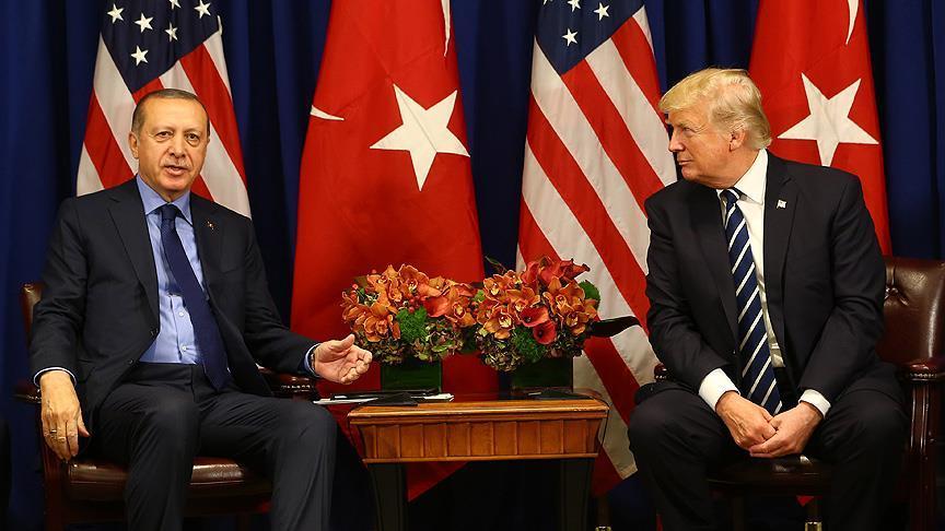 Erdoğan ile Trump telefonda görüştü!