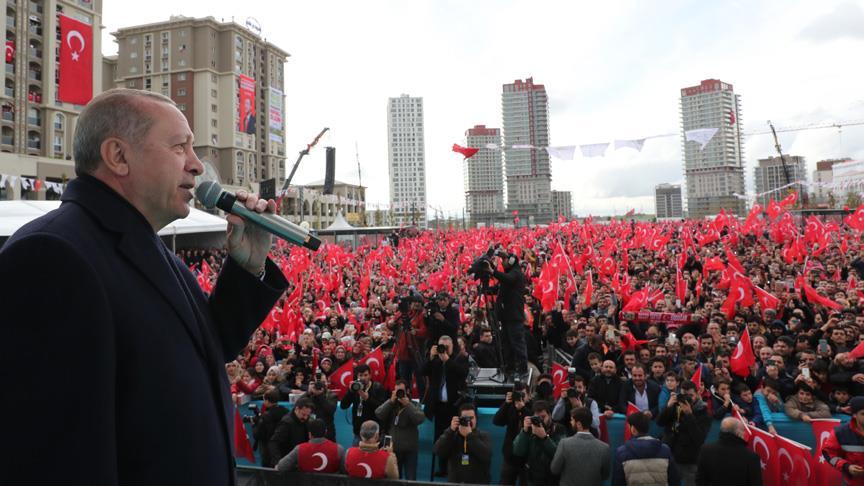 Erdoğan: 31 Mart seçimlerini 'Gönül Belediyeciliği' seçimi olarak görüyoruz