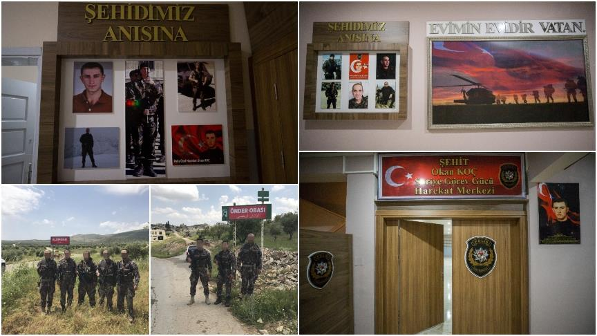 Şehit isimleri Afrin'de yaşatılıyor!