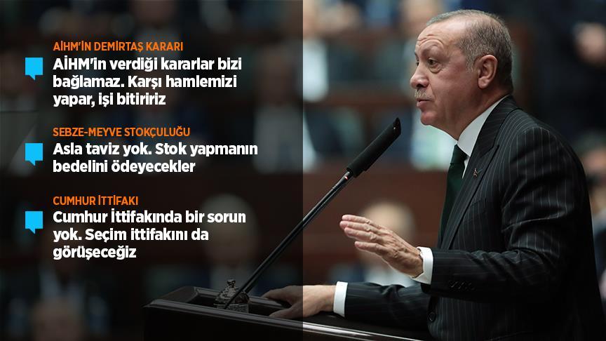 Cumhurbaşkanı Erdoğan: AİHM'in verdiği kararlar bizi bağlamaz!