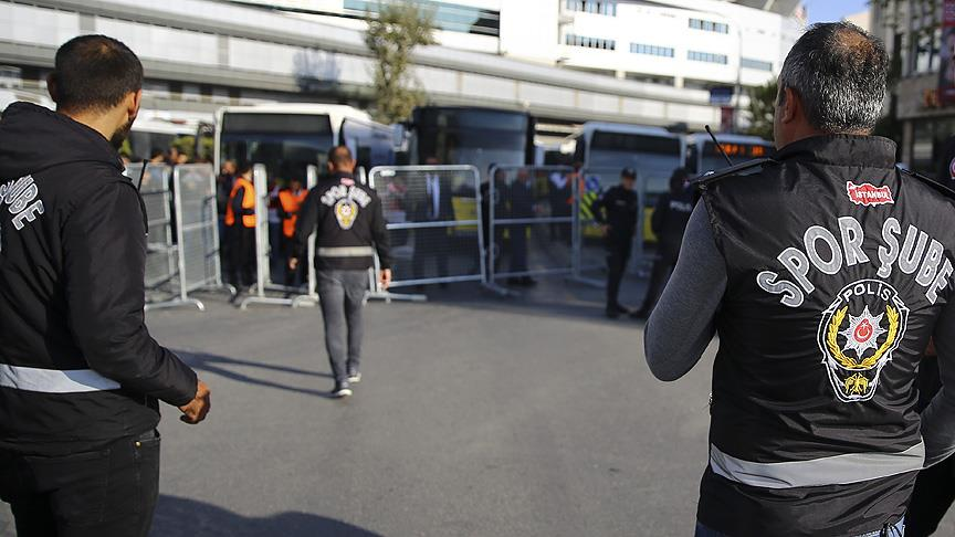 İstanbul'da yaklaşık 5 bin taraftara işlem yapıldı