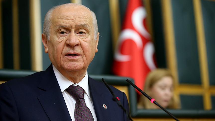 Bahçeli: Türk düşmanlarına omuz vermek İslam'ın neresine sığacak