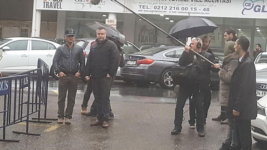 Sean Penn, Cemal Kaşıkçı belgeseli için İstanbul'da..