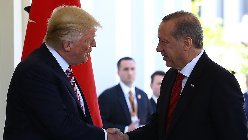 Erdoğan, ABD Başkanı Trump ile görüştü!