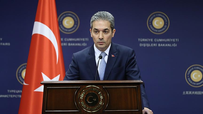 Dışişleri: Terör örgütleri yuvalandıkça operasyonlar sürecek