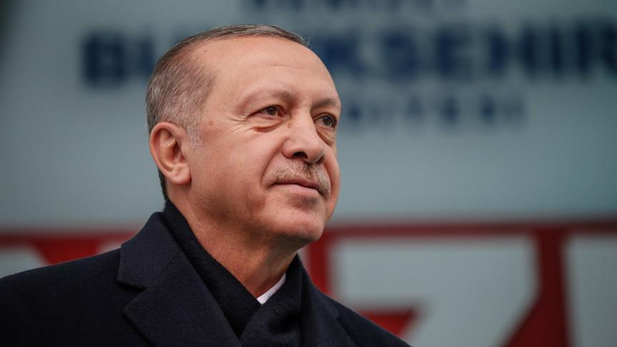 Erdoğan: Terör örgütleriyle mücadelemizi ara vermeksizin sürdüreceğiz
