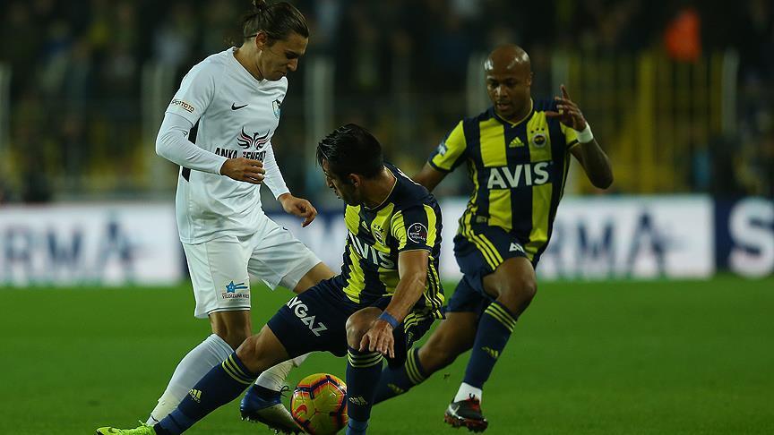 Fenerbahçe üstünlüğü koruyamadı