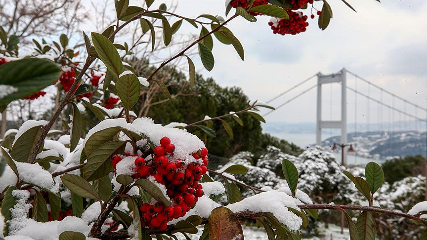 İstanbul'a kar geliyor!
