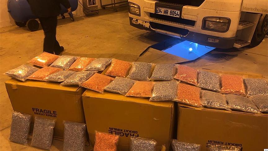 İstanbul polisinden yurt dışında uyuşturucu operasyonu