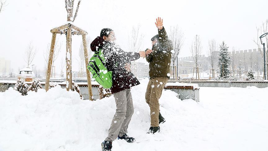6 ilde eğitime kar tatili