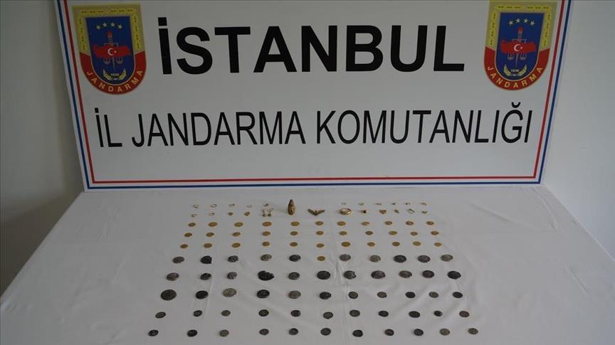 İstanbul'da 'tarihi eser operasyonu'