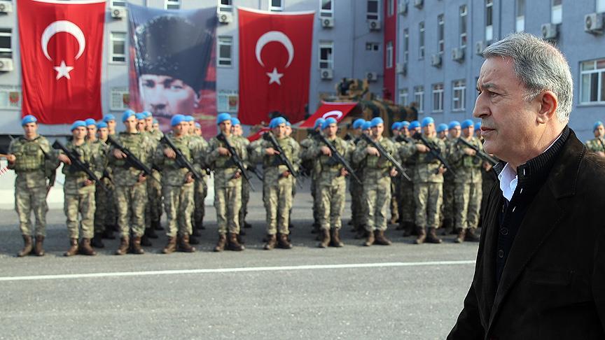Akar: Mehmetçik Zeytin Dalı Harekatı'nda destan yazmıştır