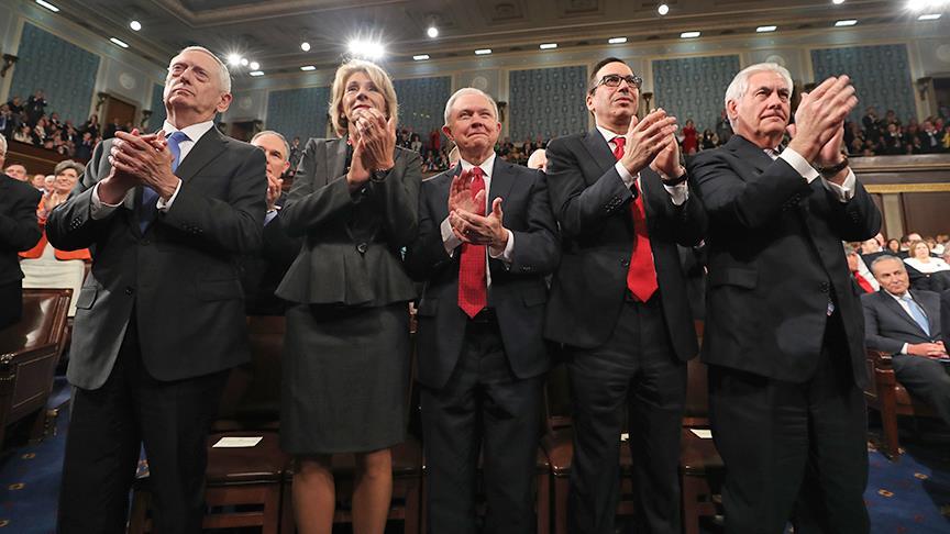 Trump'ın 2 yılına kabine değişiklikleri damga vurdu
