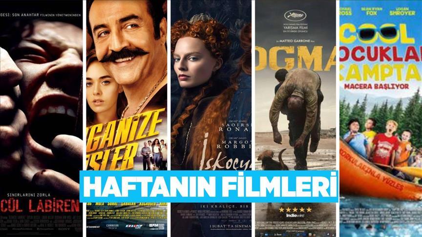 Bu hafta 5 film vizyona girecek!