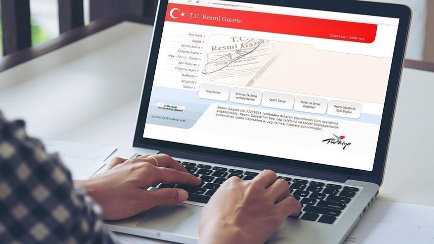 YÖNETMELİKLER RESMİ GAZETE'DE..